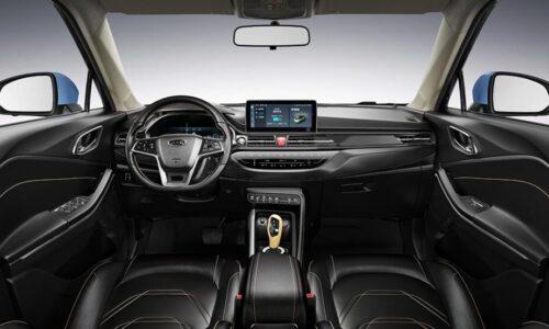 interior JAC e-S4